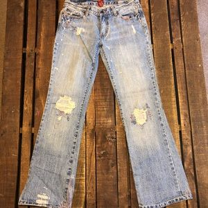 ABERCROMBIE Vintage bleached and destroyed jean 🤩